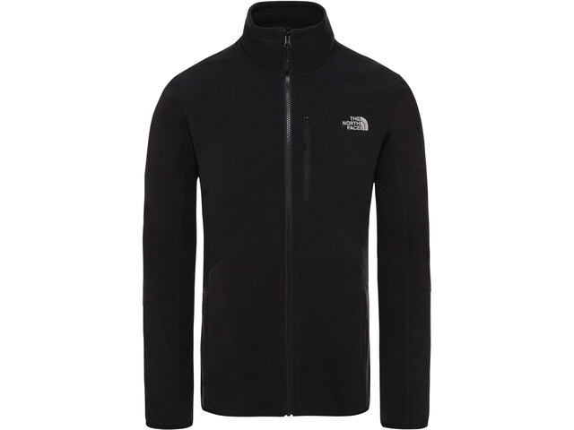 The North Face Glacier Pro Veste zippée Homme, tnf black/tnf black